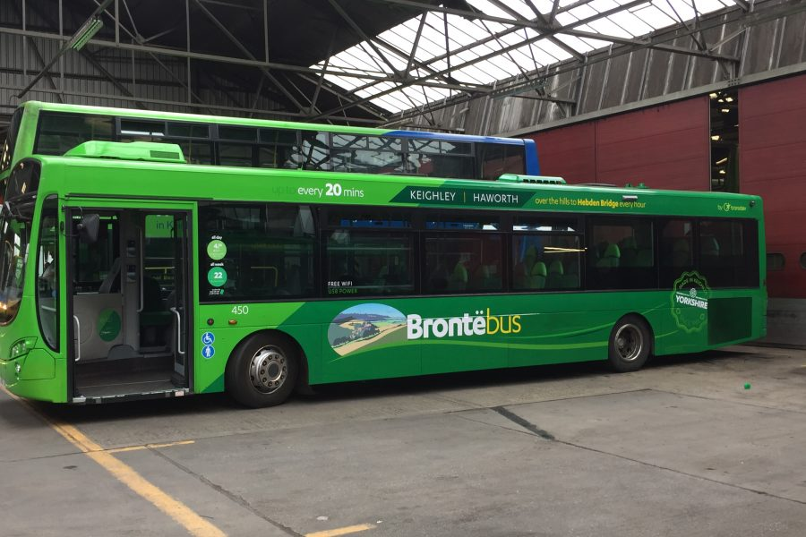 bronte bus externals